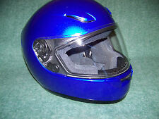 SHOEI RF-1000 MOTORCYCLE HELMET,  VISOR  CLEAR,   STRAPS & PADDING ARE EXCELLENT