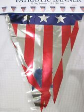 Americana 4th of July Patriotic Banner Decoration Decor 12FT