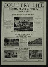 Great Swifts Cranbrook Kent Estate Agent Detail 1955 1 Page Advert