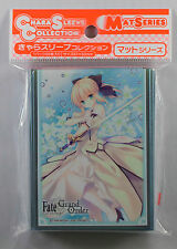 Fate/Grand Order Artoria Saber Lily Sleeves MOVIC MTG Weiss Pokemon FGO 65 ct