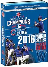 MLB World Series 2016 - Chicago Cubs Collector's Edition Blu-ray NEU Alle Spiele