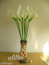 Artificial Flowers and Plants Latex PU Calla Lily F31