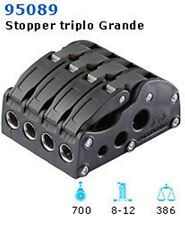 NAUTOS 95089 - XR2 ROPE CLUTCH - QUADRUPLE - LINE UP TO 14 MM - SAILING HARDWARE
