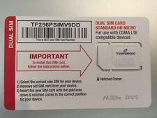 -----> NET10 VERIZON 4G LTE DUAL SIM CARD - UNLIMITED SERVICE <-----