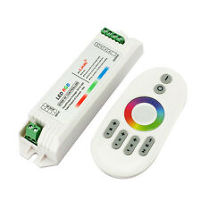 2.4GHz Touch DC12-24V 18A RF Remote Controller For RGB 5050 3528 LED Strip Light