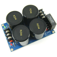 4*10000uF/50V Rectifier Filter Power Supply Finished Board PSU
