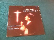 Mary Jayne My Wonderful Lord Word Records LP with Jimmie Owens Stereo Gospel