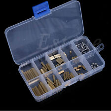 120Pcs M2 Male Female Brass Spacers Standoff PCB Board Screw Nut Assortment New