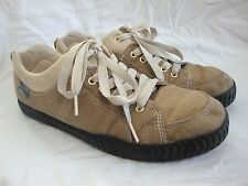 Simple Eco Sneakers Hemp Shoes Men's 10 Recycled Car Tire Sole Brown Tan Sneaks
