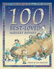 100 Best Loved Nursery Rhymes, Belinda Gallagher Hardback Book