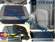 TAXI TX1 USED FRONT PASSENGER SIDE FLIP DOWN TIP UP SEAT WITH SEAT BELT VINYL