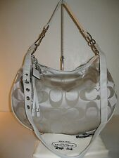 Coach 13656 Ali Signature Sateen Large Soho Hobo Shoulder Crossbody Bag - $348