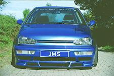JMS racelook Front alerón labio para VW Golf 3 Limousine/Variant