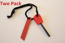 Flint Fire Starter Rod Ferrocerium Emergency Survival Camping lighter tool