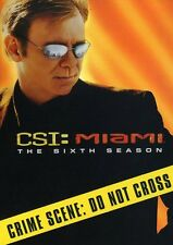 CSI: Miami - The Sixth Season [6 Discs] DVD Region 1