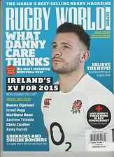 RUGBY WORLD MAGAZINE #648 JULY 2014, THE WORLD'S BEST-SELLING RUGBY MAGAZINE