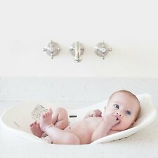 NEW Puj Flyte Compact Infant Bath - The Soft, Foldable Baby Bath Tub, White