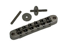 Gotoh Nashville Tune-O-Matic Bridge Black Chrome for Gibson