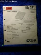 Sony Service Manual DD DR1 Electronic Book Drive (#2582)