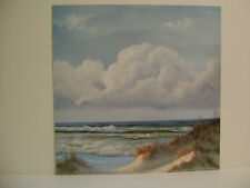 BEAUTIFUL DAY I I l  BY GEORGIA JANISSE OCEAN SCENE WITH BEAUTIFUL SKY AND WAVES