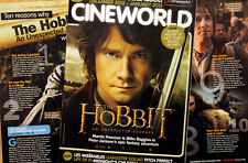 CINEMA FILM MAGAZINE - THE HOBBIT AN UNEXPECTED JOURNEY  ETC - MARTIN FREEMAN