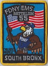 FDNY EMS 55 Fire Department New York patch