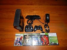 250GB Microsoft Xbox 360 Slim Kinect Bundle with 5 Games