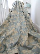 "COLEFAX & FOWLER CURTAINS silk crewelwork ""ALLERTON"" TREE of LIFE pencil pleat"