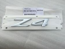 Emblem Badge Decal Rear Chrome for BMW Z4 E52 E85 E86 E89 28i 30i 35i OEM