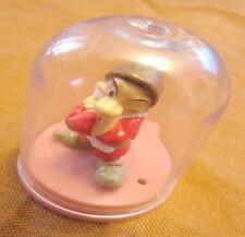 Sette nani 7 brontolo yujin 3 dentro campana in plastica teca da collezione raro