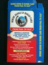 DVD HORSE CARE-EQUINE-HORSE TRAINING-HORSE HEALTH CARE-SADDLE FITTING-HOOF CARE-