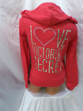 victoria secret HOODIE SUPERMODEL ESSENTIALS BLING  NWT! SMALL