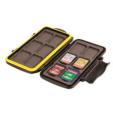 Ares foto MEMORY CARD MINI CASE mc-sd12 schede di memoria retratta CARDS 12x SDHC