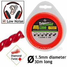 1.5mm Strimmer Line 30m Spool Refil for BLACK & DECKER D600 GL100 GLC3000 A6171