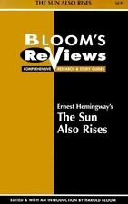 Ernest Hemingway's the Sun Also Rises: Edited and With an Introduction by Harold