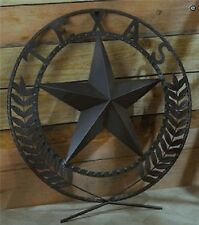 Texas Star Country Western Plaque Wall Decor Iron Hanging Sign Country Rustic