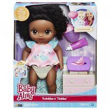 Baby Alive Twinkles N' Tinkles (African American) Doll Interactive Speaks Eng...