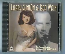 Larry Clinton & Bea Wain CD SESSIONS 1937 - 1938 Vol. 2 © 2002 Denmark-26-track