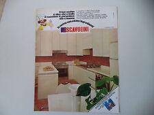 advertising Pubblicità 1981 CUCINE SCAVOLINI