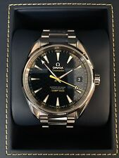 Omega Seamaster Aqua Terra 150M James Bond limited edition men's wrist watch