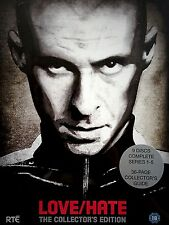 LOVE/HATE SERIES 1 - 5  EXCLUSIVE COLLECTOR'S EDITION BOX SET | NEW DVD