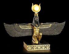 Ägyptische Isis Figur schwarz-gold - Ägypten Deko Göttin Gottheit