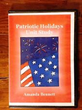 Patriotic Holidays Unit Study by Amanda Bennett in excellent condition!