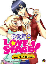 ANIME MANGA DVD Love Stage !! (TV 1 - 10 End) DVD + Free Register Mail Tracking