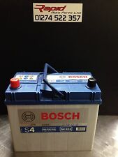 CAR BATTERY 057 12V MAINTENANCE FREE BOSCH SILVER S4023 4 YEAR GURANTEE