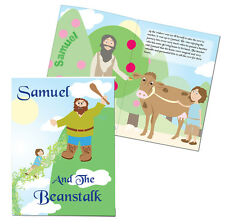 Childrens JACK AND THE BEANSTALK  Personalised Story Book - Free Delivery