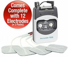 Accurate Dual Channel TENS Machine-Accurate And Powerful TENS. For Fast Long 12
