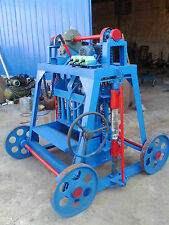 Concrete Blocks Making Machine Movable Cement Bricks Make 4 blocks a Time