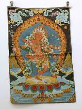 Tibet Collectable Silk Hand Painted Immortal Thangka  gd7627