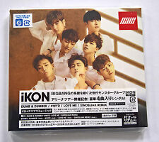 iKON 1st Japan Single CD Album Dumb & Dumber First Press - New